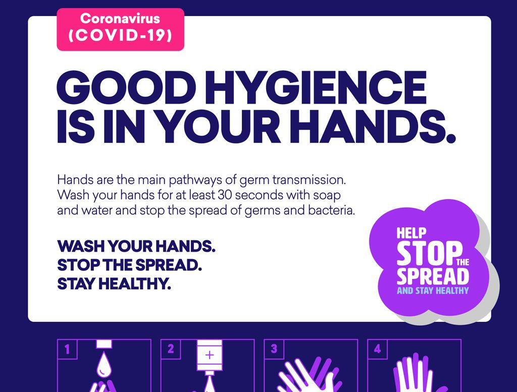 COVID-19 Free Handwashing Poster & Resources