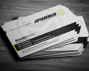 Business Cards Die Cut 1