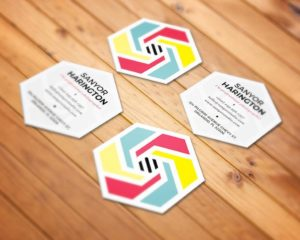 Business Cards Die Cut 2