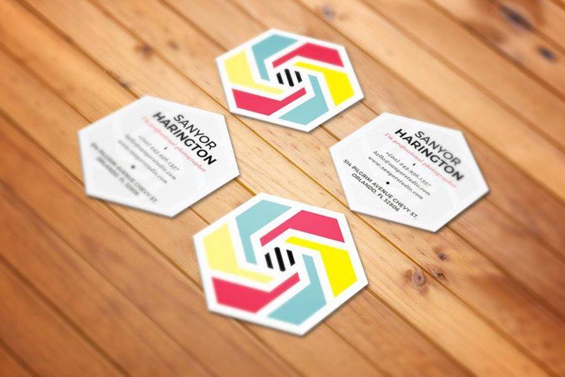 Business Cards Die Cut 2