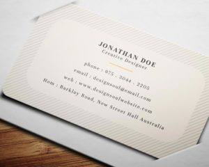 Business Cards Rounded Corners 1