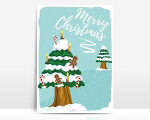 Christmas Greeting Card 1