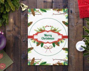 Christmas Greeting Card 5