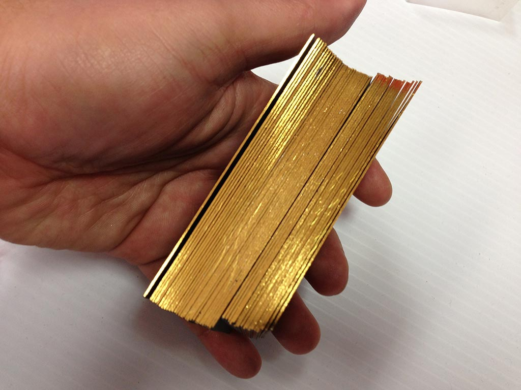 Edge Foil Business Cards