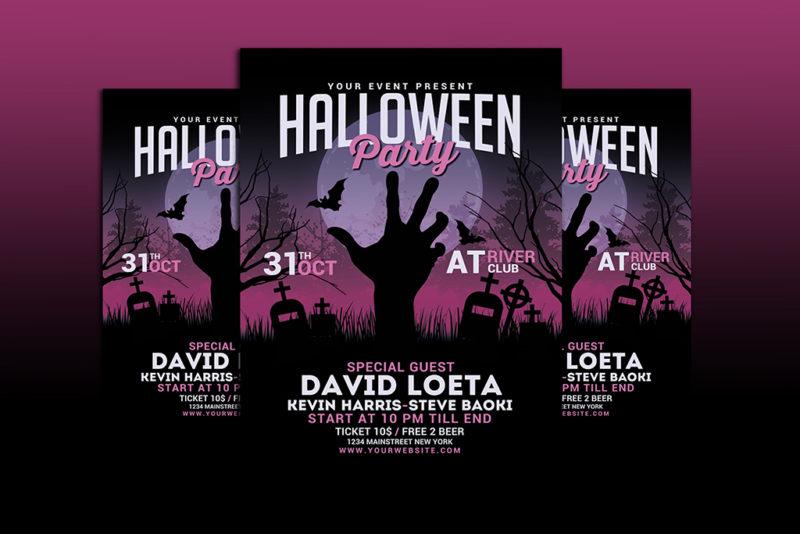 Halloween Flyer Printing Nyc 1