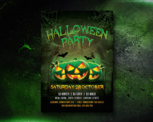 Halloween Flyer Printing Nyc 4