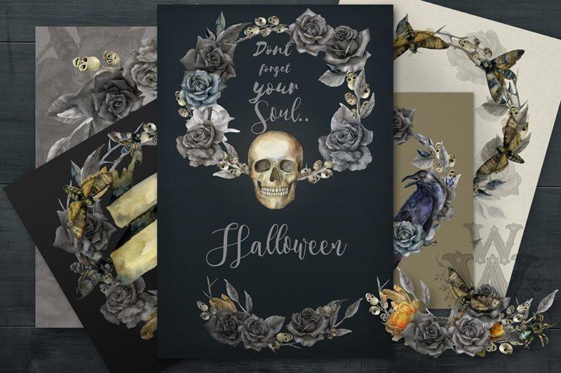 Halloween Postcard Printing Nyc 1