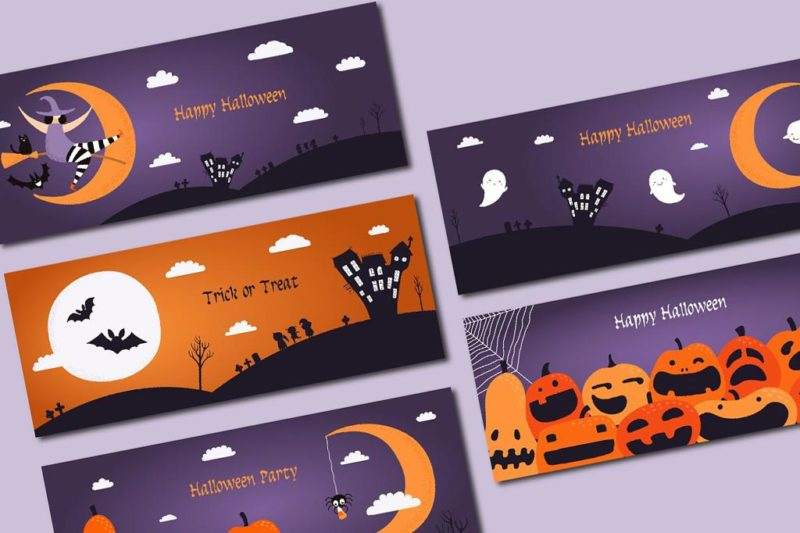 Halloween Postcard Printing Nyc 3