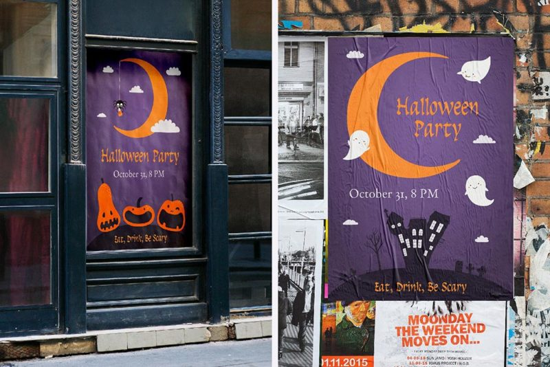 Halloween Event Posters