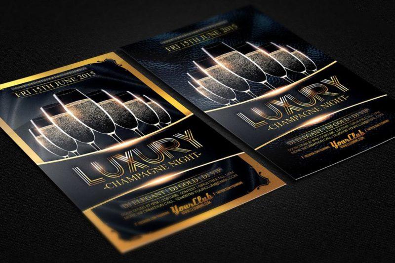 Metallic Flyer Printing 2