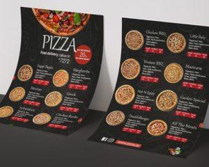 Pizza Menus