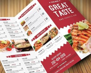 Restaurant Menu Printing Nyc 2