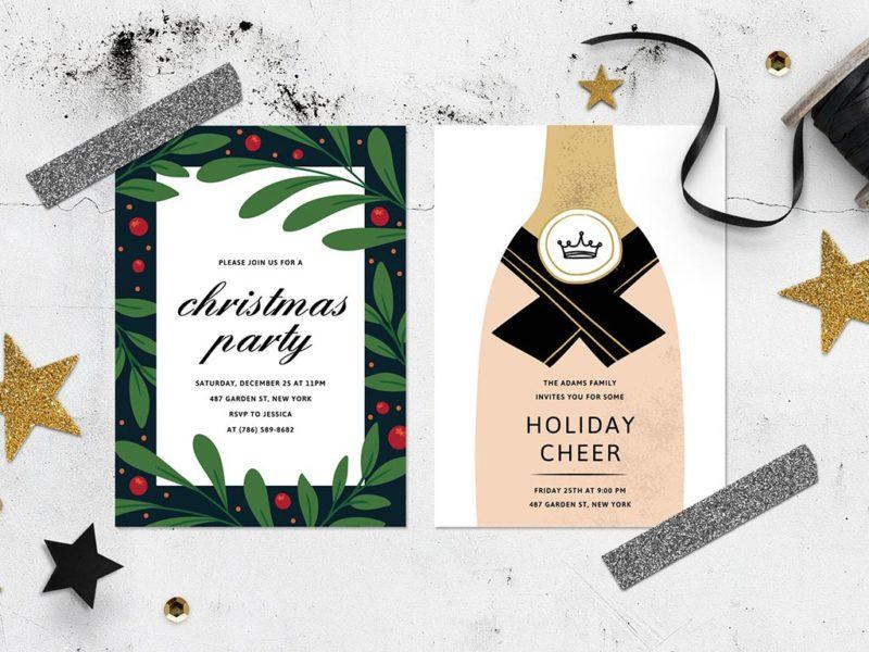 Silk Christmas Cards