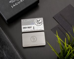 Stainless Steel Business Cards